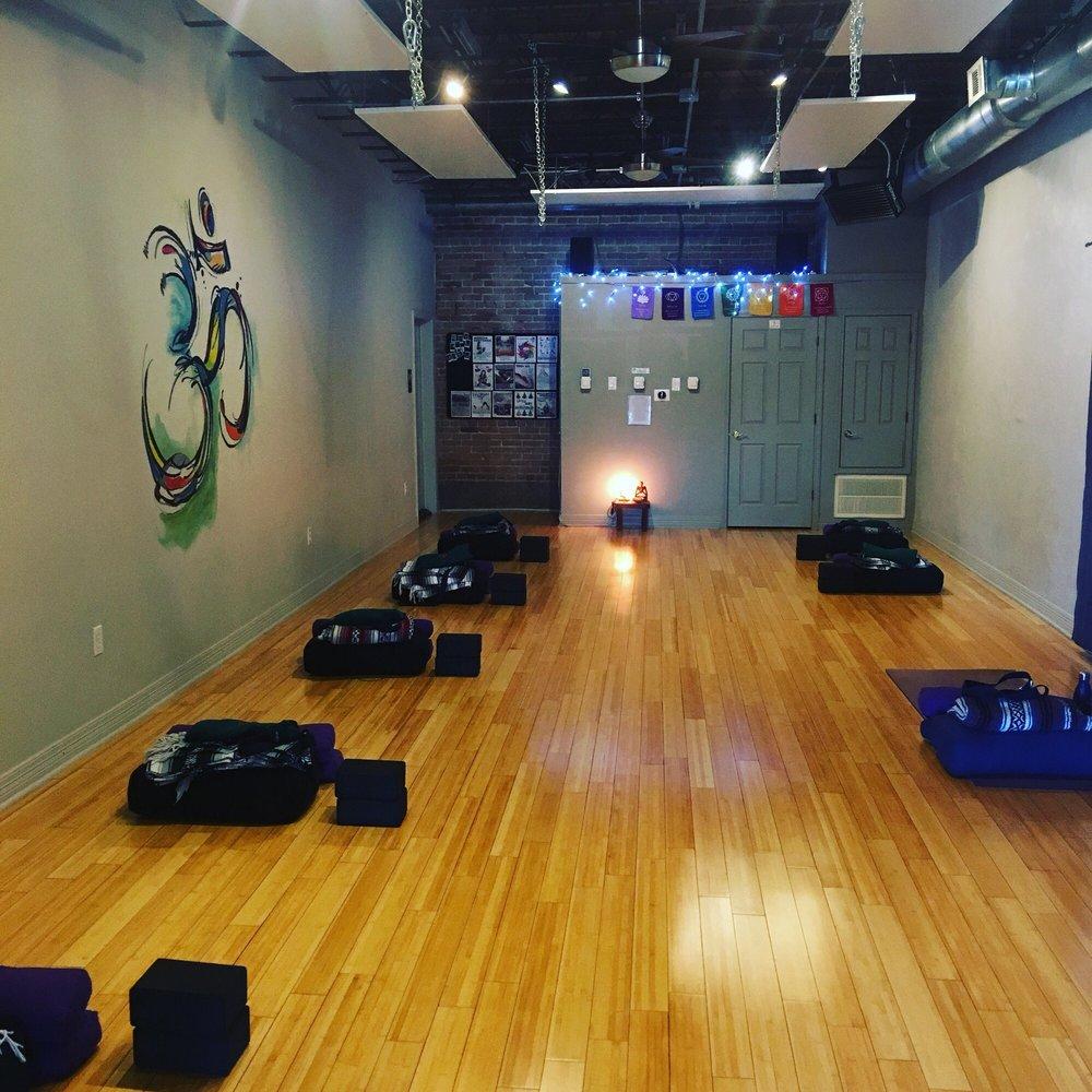 Yoga Story: 106 SE A St, Bentonville, AR