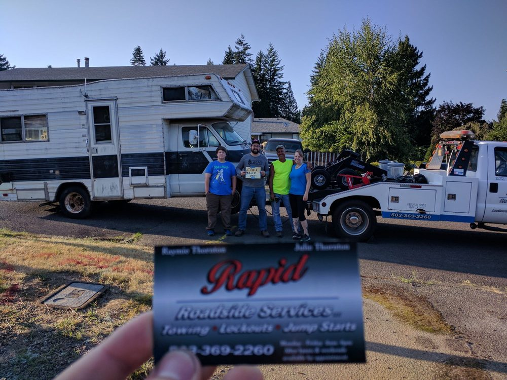 Rapid Roadside Services: 53635 Columbia River Hwy, Scappoose, OR