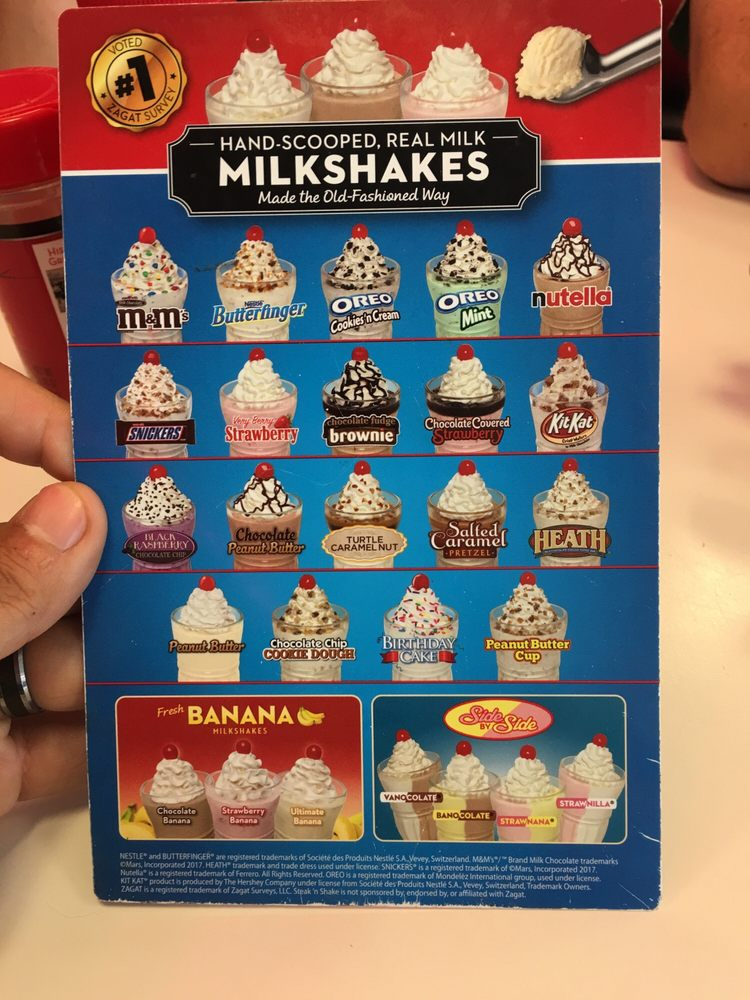 picture regarding Steak and Shake Coupon Printable titled Steak and shake milkshakes / Second maid small children