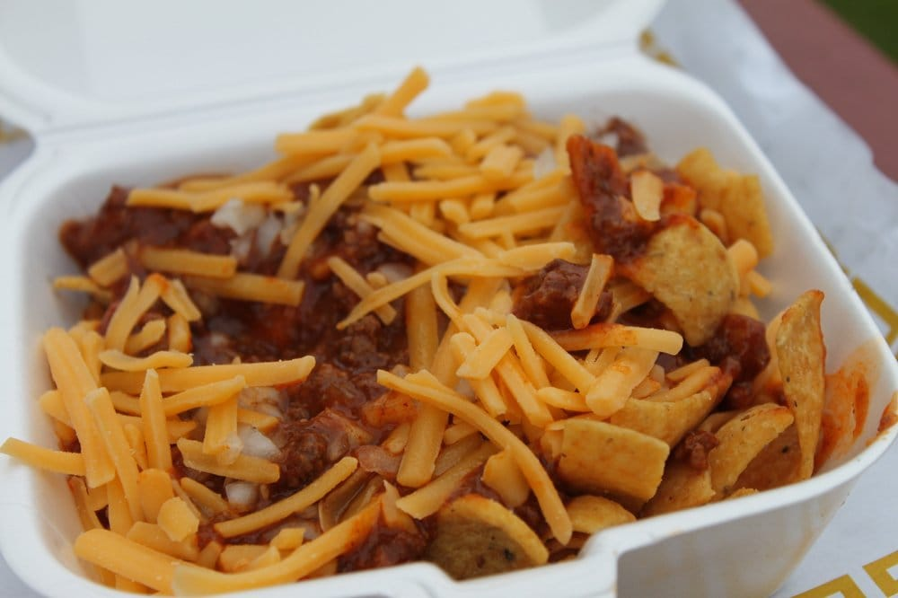 how to make chili cheese fritos