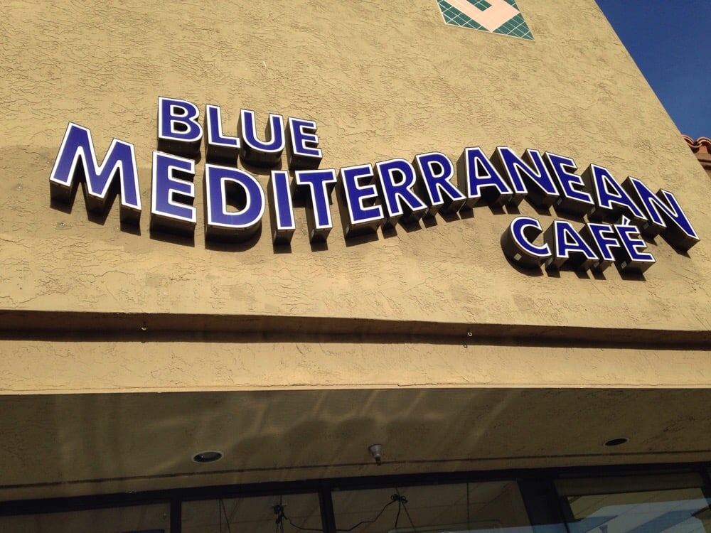 Blue Mediterranean Cafe Newport Beach