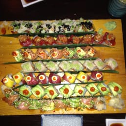 Bada Sushi - Suffern, NY, United States. Wipe that drool off your face
