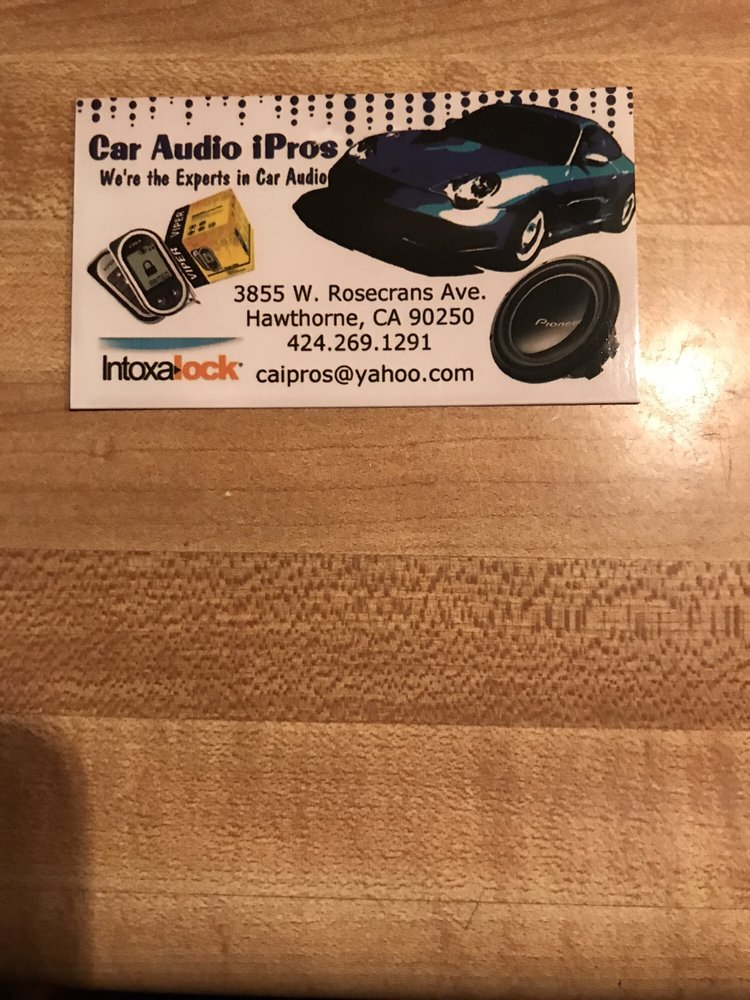 Stereo Installation Gift Cards Certificates In Los Angeles Ca