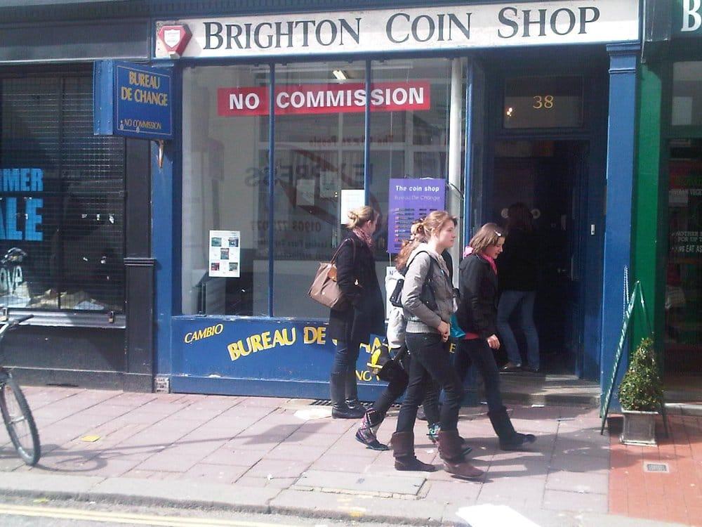 Bureau de change in brighton brighton coin shop financial