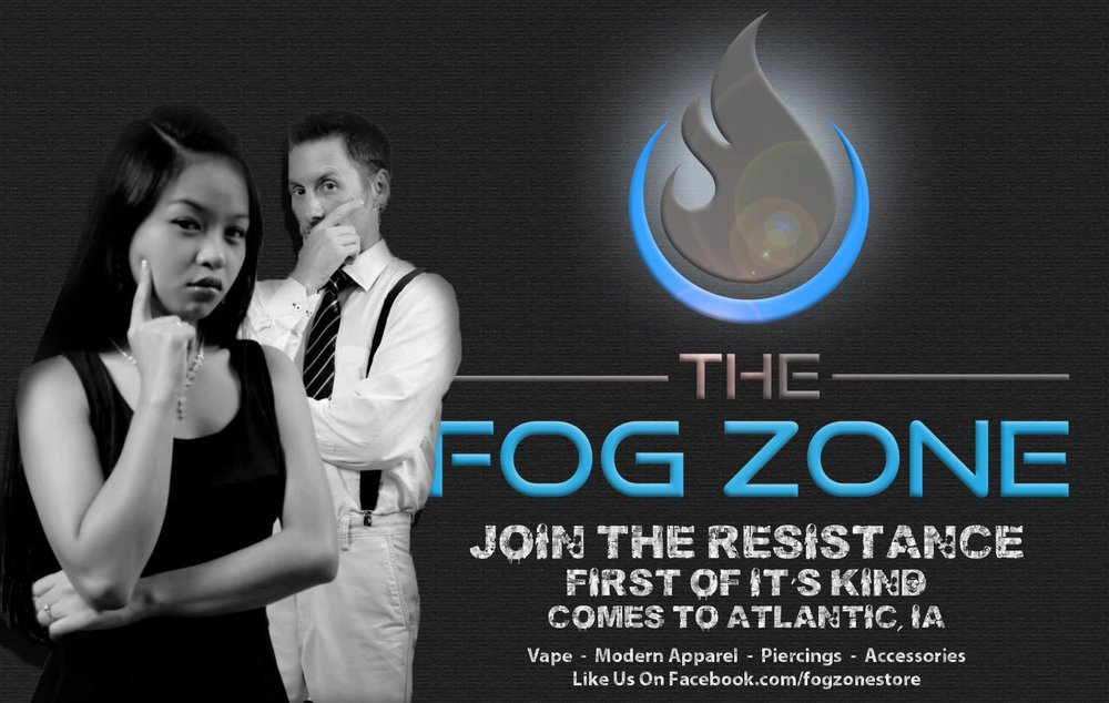 Fog Zone - Vape Store & Moden Apparel: 420 Chestnut St, Atlantic, IA