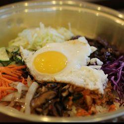 Photo Of Namoo Korean Bowl Arlington Tx United States Bibimbap Korean Mixed