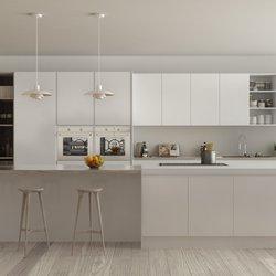 Photo Of Kitchen Solvers Of Miami   Miami, FL, United States. White Acrylic