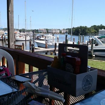 Photo Of Anglers Bar Grill Solomons Md United States Outside Seating