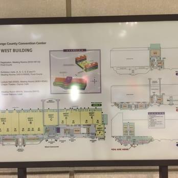Orange County Convention Center Photos Reviews - Orange county convention center map
