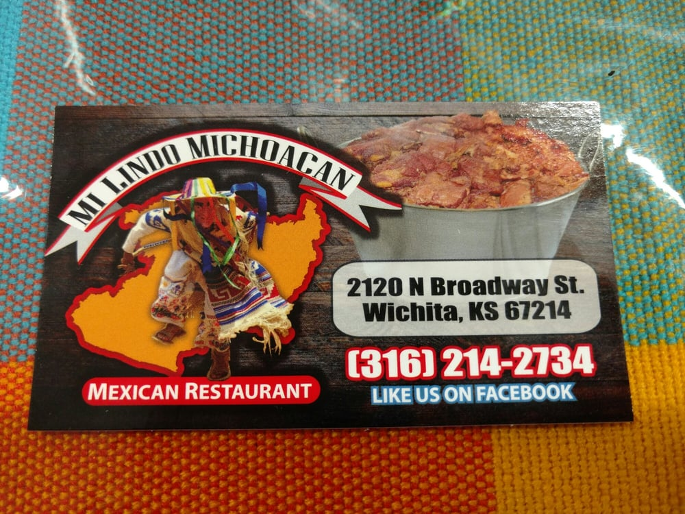 Taqueria Mi Lindo Michoacan: 2120 N Broadway St, Wichita, KS