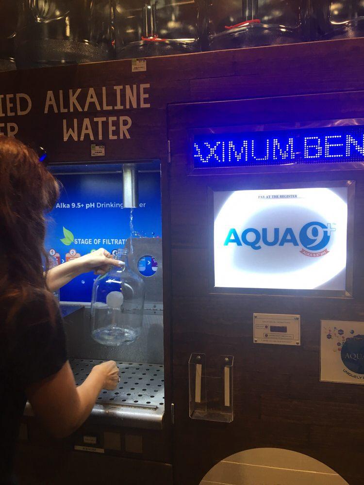 Whole Foods Alkaline Water Machine Food