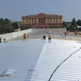 Beautiful Photo Of Allied Roofing   Monroe, LA, United States. Commercial Metal  Roofing