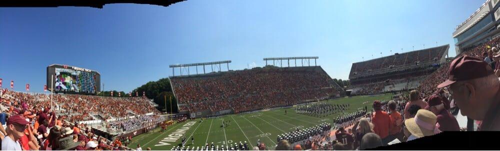 Lane Stadium: Stadium Rd, Blacksburg, VA