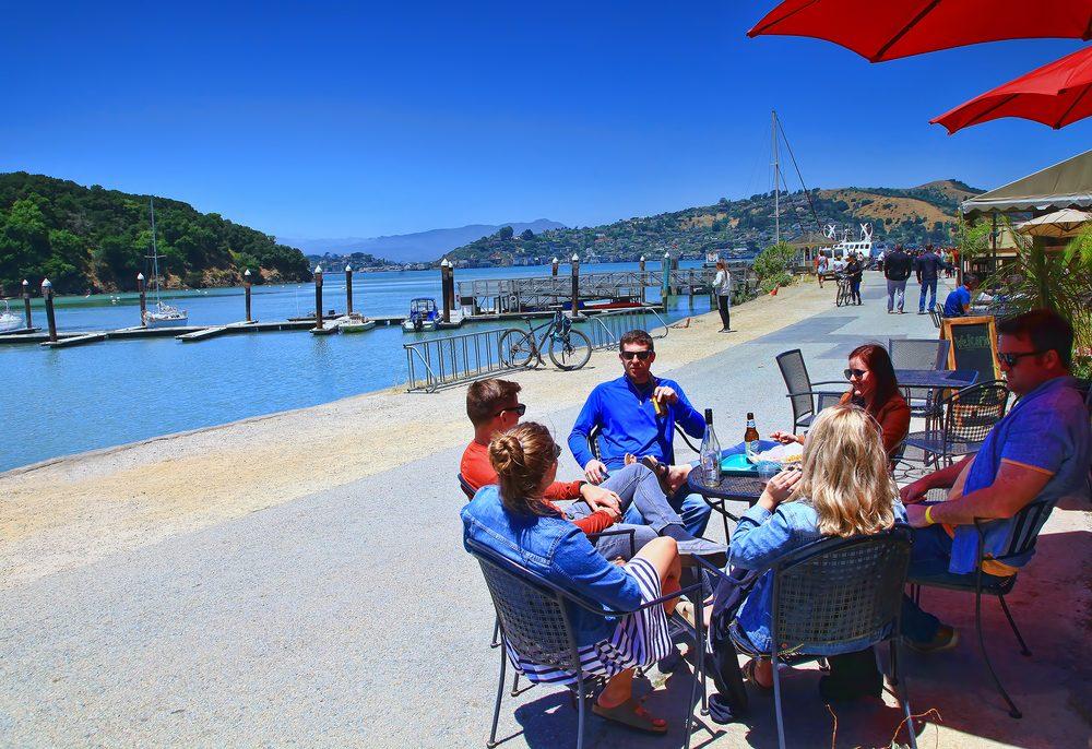 Angel Island Cafe: 1520 Mar W, Tiburon, CA