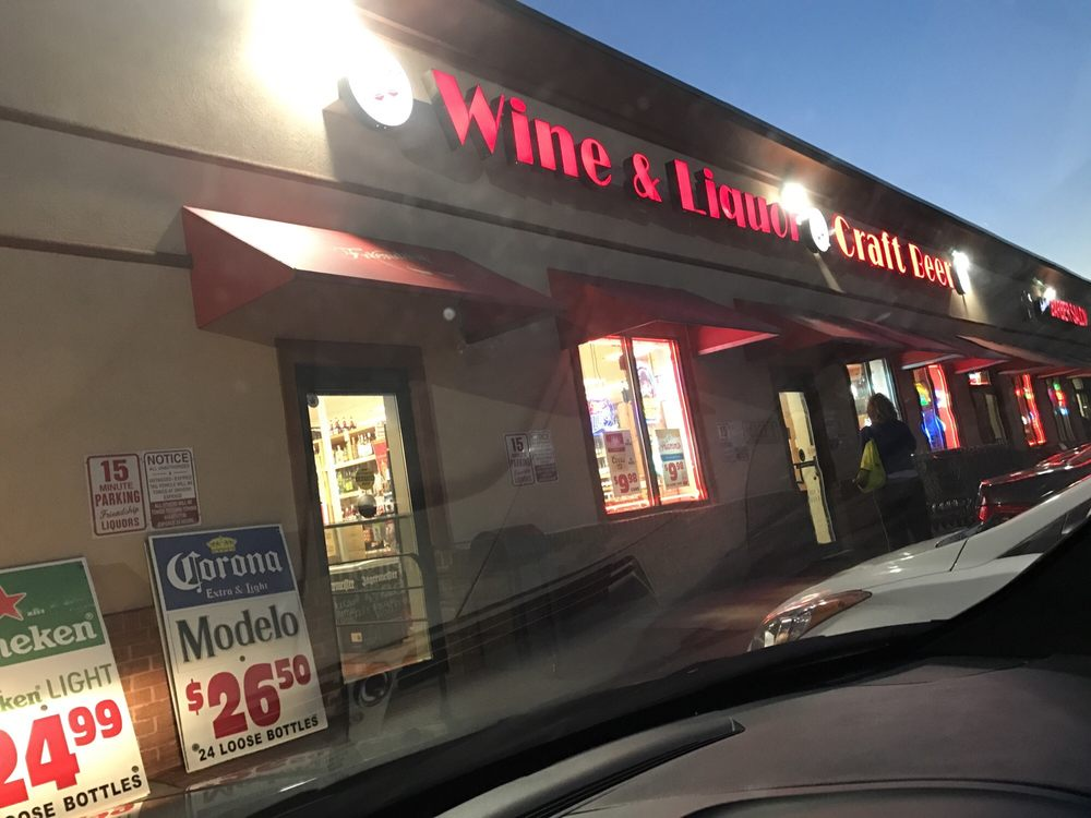 Friendship Wine & Liquor: 3502-A Woodsdale Rd, Abingdon, MD