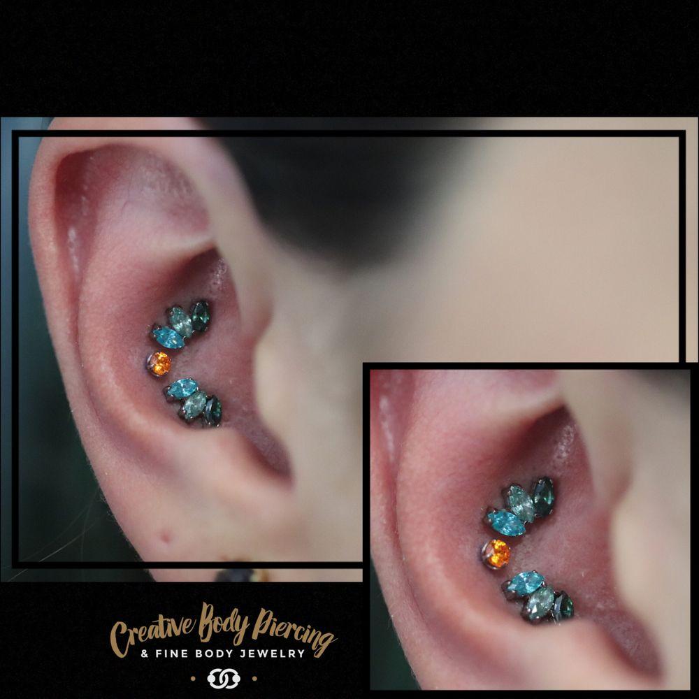 Creative Body Piercing & Fine Body Jewelry: 409 1st Ave E, Kalispell, MT