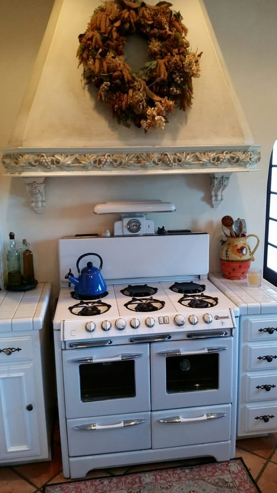 Lovely Antique Gas Stoves and Ovens