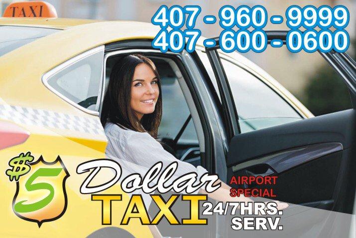 5 Dollar Taxi Kissimmee: 2430 Franklin Dr, Kissimmee, FL
