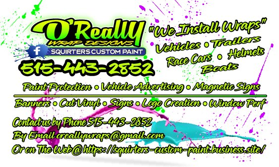 Squirter's Custom Paint & O'Really Wrap Designs - Request a Quote