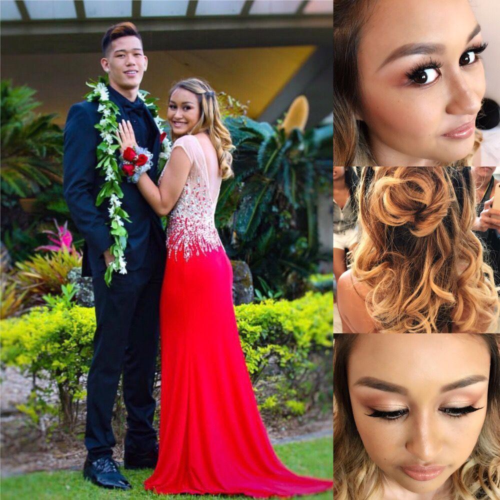 Kailua High School Senior Prom Makeup Hair Yelp