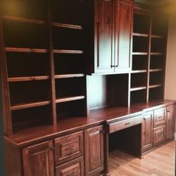 Photo Of Cabinet Creations   Rock Hill, SC, United States. Knotty Alder Desk