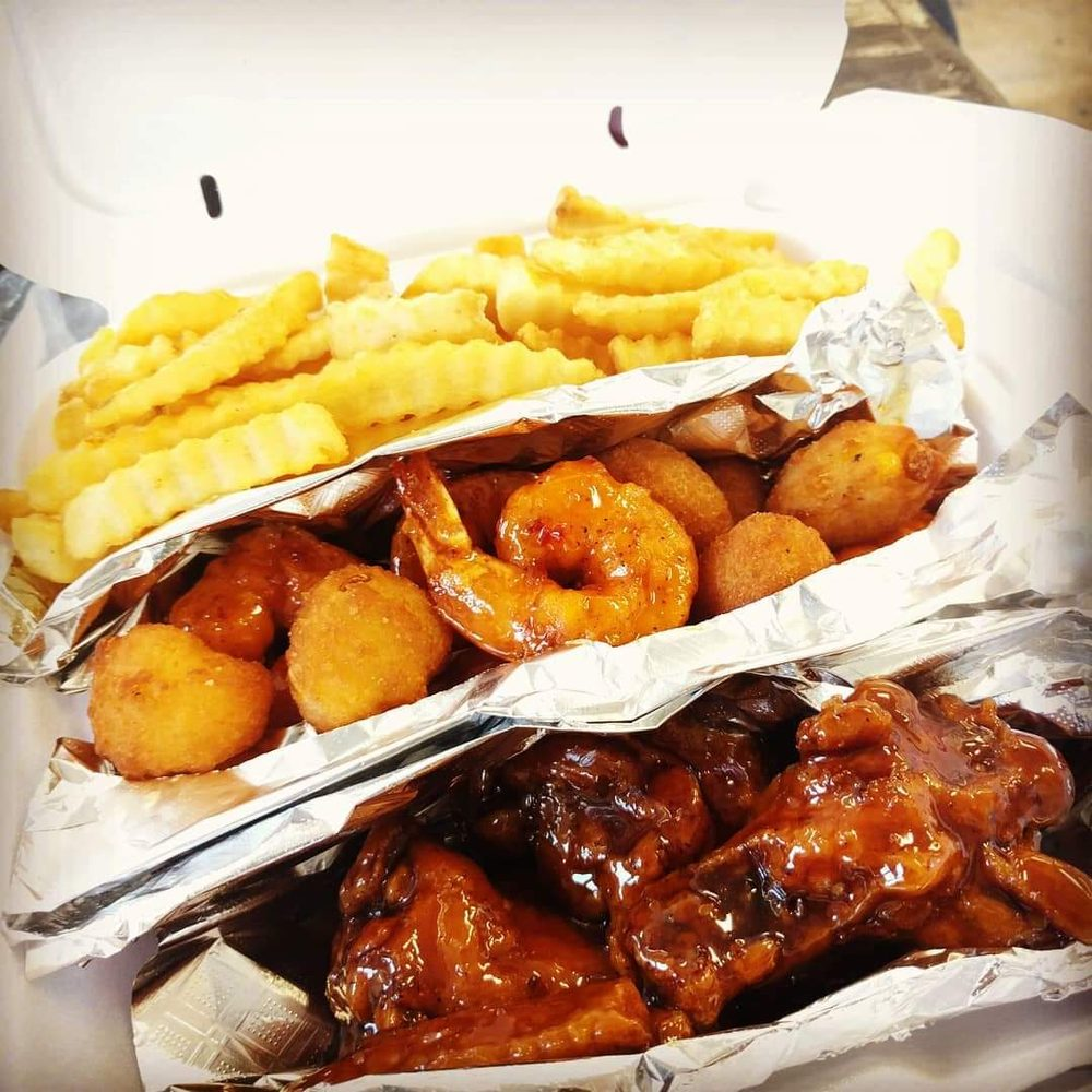 Food from JammBar Wings