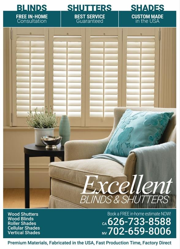 Excellent Blinds and Shutters