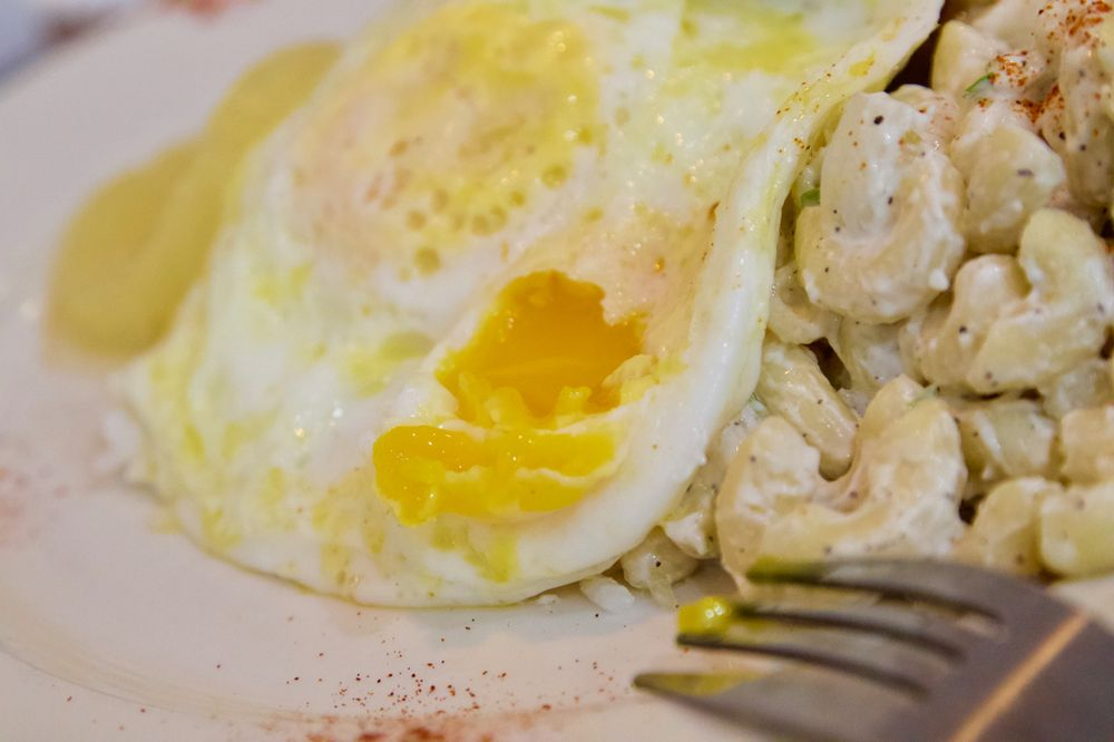 Peg's Glorified Ham N Eggs