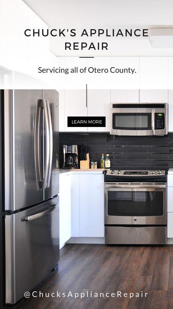 Chuck's Appliance Repair: 311 E 5th Ave, Mount Dora, FL