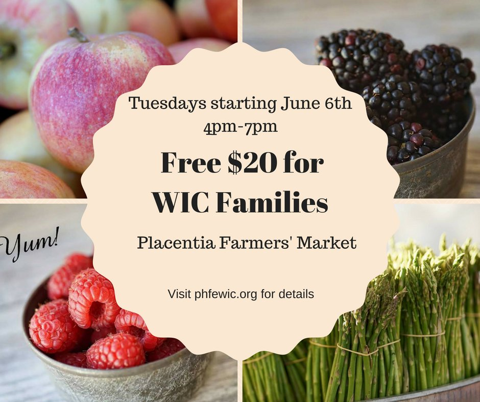 Placentia Certified Farmer's Market: 130 E Yorba Linda Blvd, Placentia, CA