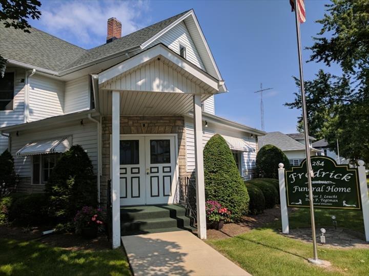 Fredrick Funeral Home: 284 Park St, Hampshire, IL