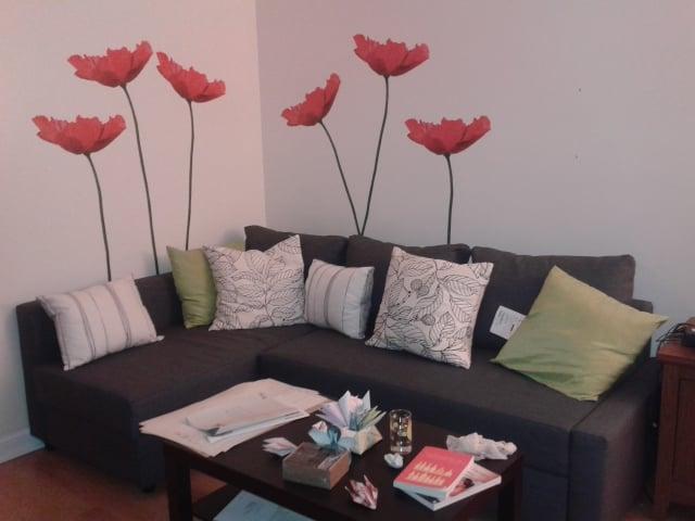 Living Room In Progress Ignore Table Mess Ikea Items Slatthult