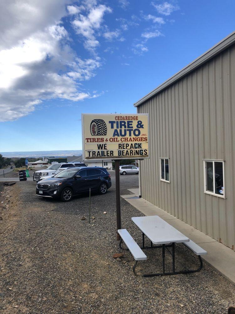 Cedaredge Tire & Auto: 1220 S Grand Mesa Dr, Cedaredge, CO