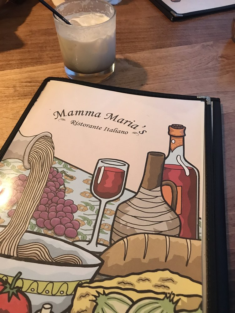 Food from Mamma Maria's
