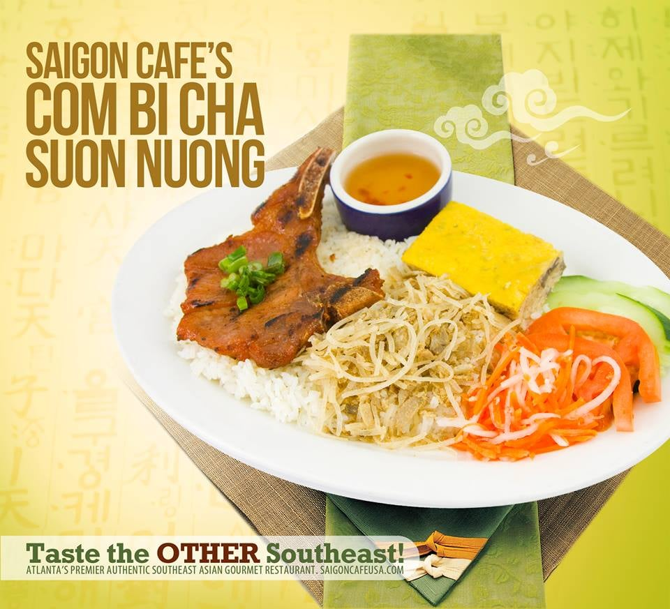 Saigon Cafe Menu Duluth