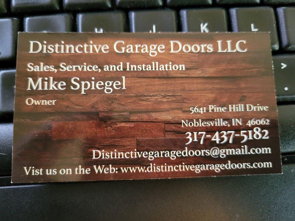 Distinctive Garage Doors: 506 E Howard Ave, Arcadia, IN
