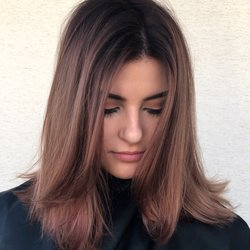 Photo Of Hairchitects Salon   Campbell, CA, United States. Mauve Colored  Balayage And