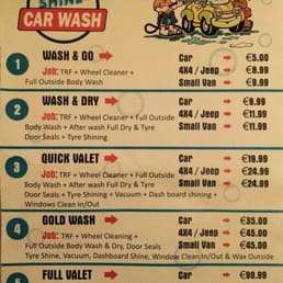 wash shine car wash car wash unit 1 broadstone dublin phone number yelp. Black Bedroom Furniture Sets. Home Design Ideas