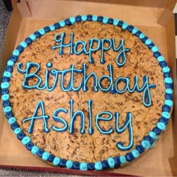 Mrs Fields Double Layer Cookie Cake