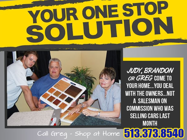 Home Based Carpet & Flooring: Loveland, OH