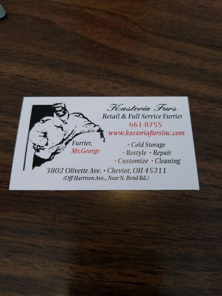 Kastoria Furs: 3802 Olivette Ave, Cincinnati, OH