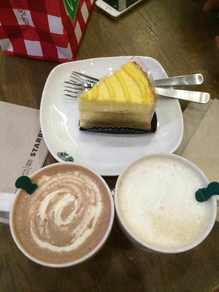 Lemon Zest Curd Free Birthday Cake Choice And Hot Chocolate And