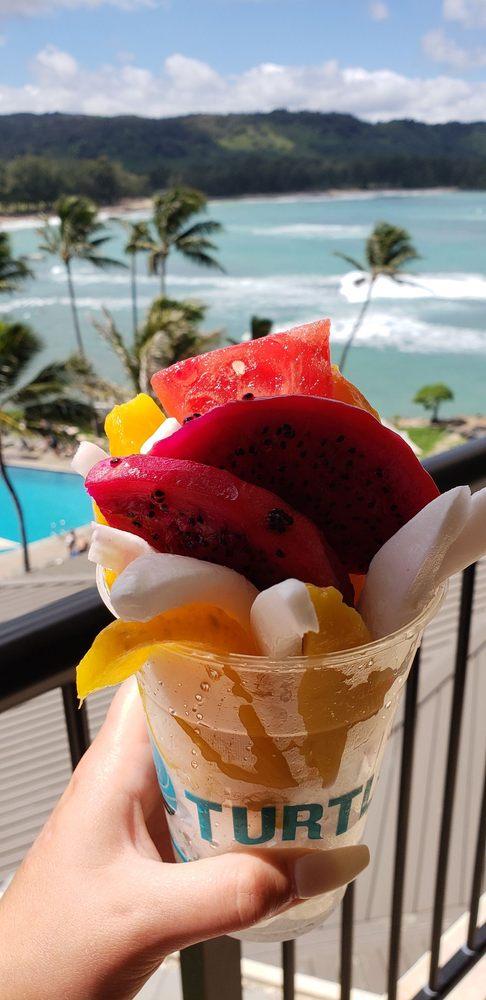 Ricky's Brand Corn & Apple Banana: Kahuku Farms, Koolauloa, HI