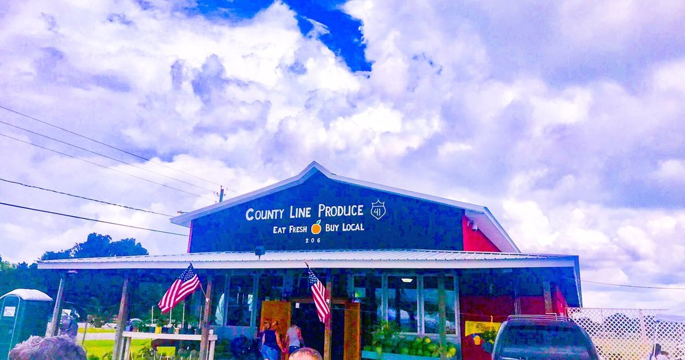 County Line Produce: 206 Newberger Rd, Lutz, FL