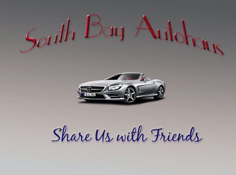 Share us on social media yelp for South bay autohaus mercedes benz chula vista ca