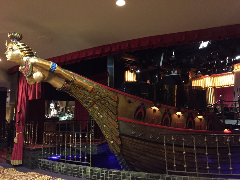 Photo of Cleopatra's Barge - Las Vegas, NV, United States. Ornate replica of the boat that carried Cleopatra of Egypt on the Nile river.