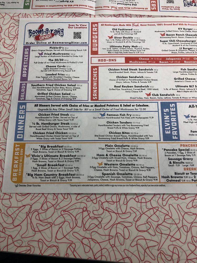 Boom-A-Rang Diner: 2416 W Broadway Ave, Sulphur, OK