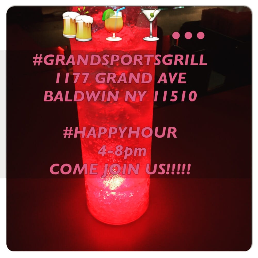 Grand Sports Grill: 1177 Grand Ave, North Baldwin, NY