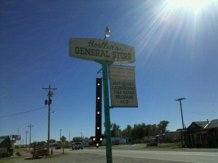 Hostler's General Store: 365 N 4th St, Rock River, WY