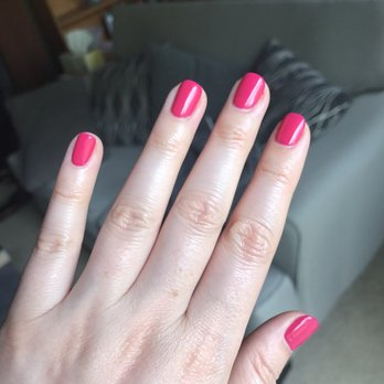 Photo Of Holiday Nails Los Angeles Ca United States Pink Perfection Gel